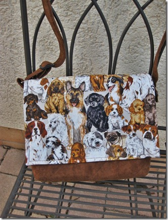 Med doggie purse