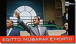 Hosni Mubarak morreu. Jun 2012
