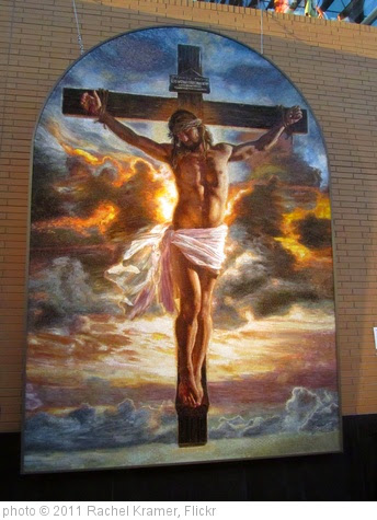 'Crucifixion by Mia Tavonatti' photo (c) 2011, Rachel Kramer - license: https://creativecommons.org/licenses/by/2.0/