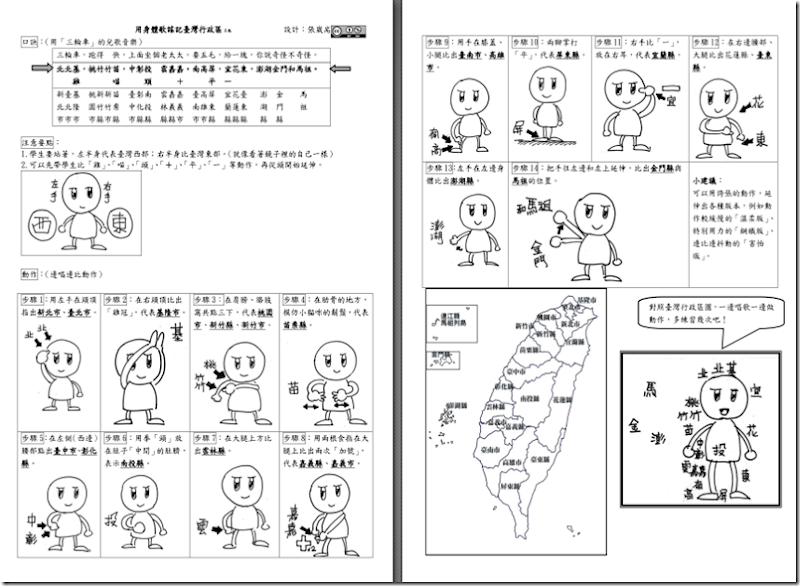 身體歌謠記憶臺灣行政區3