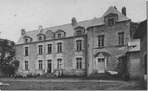 Le logis de Gesvres vers 1925