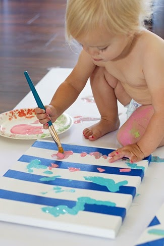 good toddler paint project