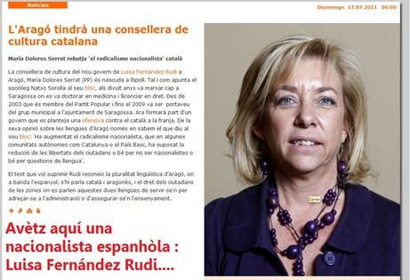 Nacionalista espanhòla