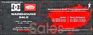 DC & Vans Skateboard Fashion Warehouse Sale 2013 Malaysia Deals Offer Shopping EverydayOnSales