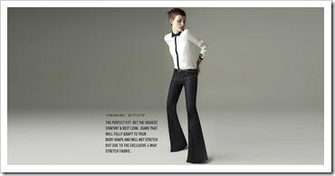 Zara Woman Flare Raw Jean