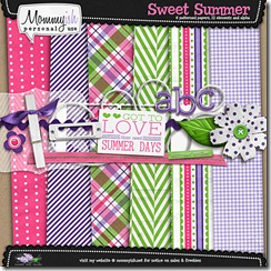 summer scrapbook kit