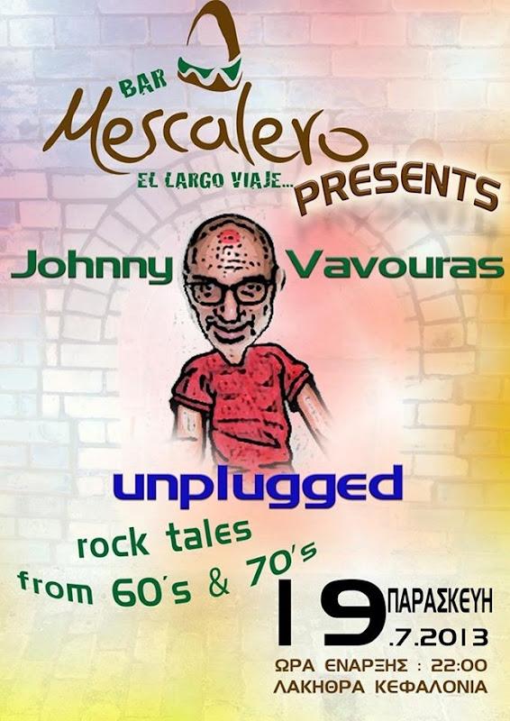 Ο Johnny Vavouras στο Mescalero (19.7.2013)