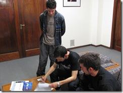 Firma del contrato de los ganadores del programa ANR FONSOFT EMPRENDEDORES 2009