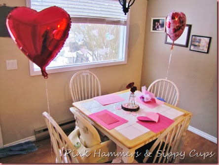 Kids Valentine's Day Dinner @ Pink Hammers & Sippy Cups