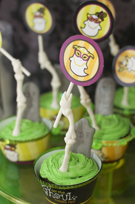 zombie cupcakes diy