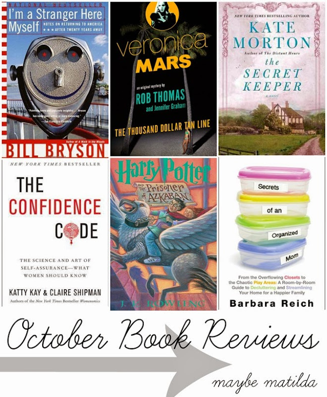 October Reading + Book Reviews // www.maybematilda.com