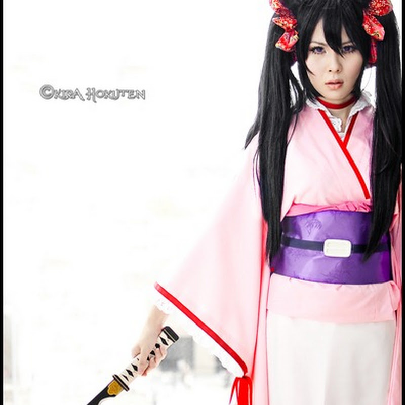 How I made my Otome Yokai Zakuro Costume