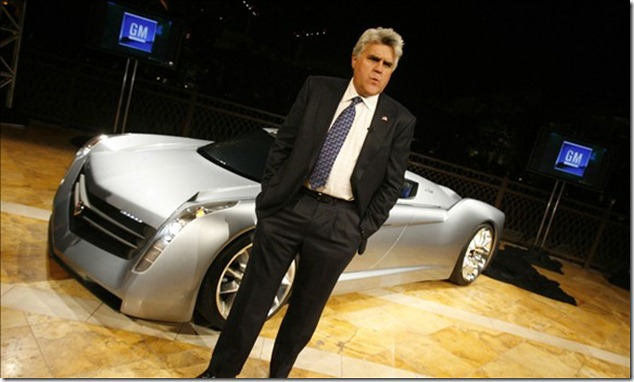 Jay Leno and his turbine-powered EcoJet