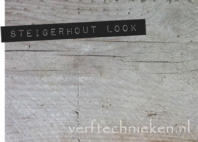 Verftechnieken.nl Steigerhout look