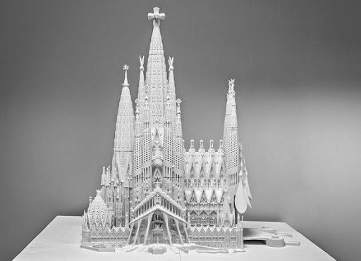 3D Yazıcılar Sagrada Familia İçin Çalışıyor