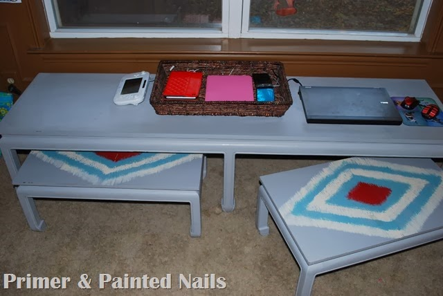 Charging Station - Primer & Painted Nails