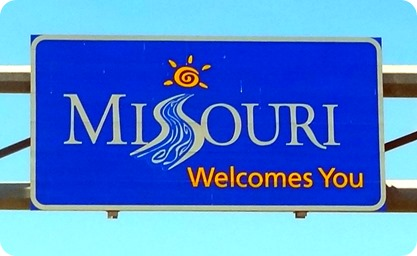 missouri sign