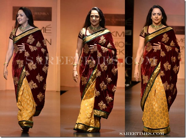 Shyamal_Bhumika_Hema_Malini_Saree