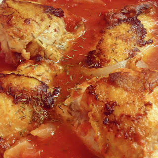 Chicken Thighs Canned Tomatoes Recipes