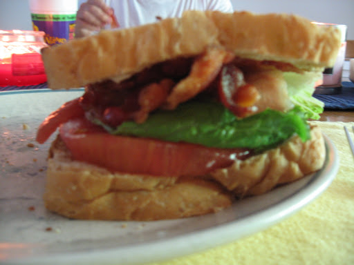 A giant BLT.