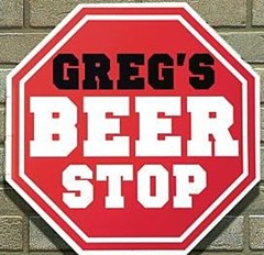 Man Cave Beer Stop Sign