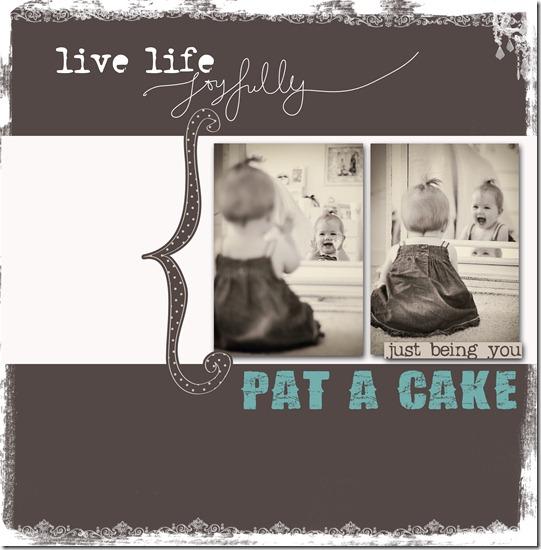 Pat a cake copy