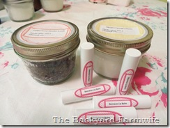 lip balm - The Backyard Farmwife