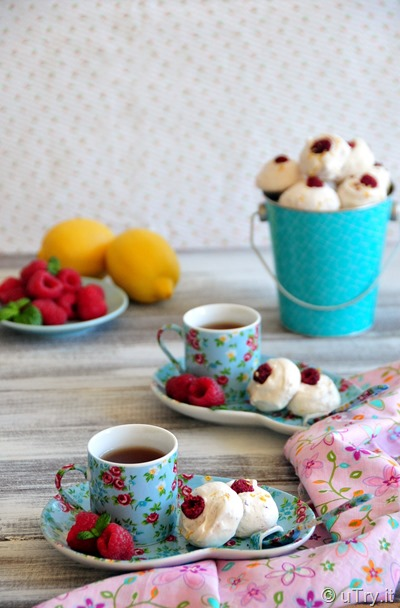 uTry.it: Lemon Raspberry Meringue Bubbles—Easy Entertaining Recipe