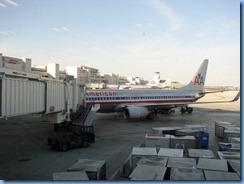 7537 Miami Airport - our plane