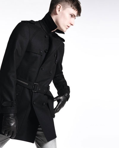 Alexander Beck by Milan Vukmirovic for BLACKBARRETT by Neil Barrett, F/W 2011 campaign