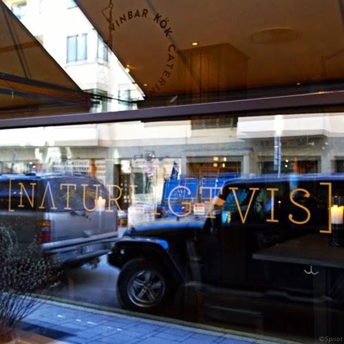 Restaurang Naturligtvis - Fönster