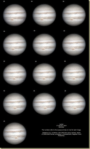 17 January 2014 Jupiter