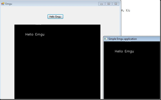 how to create bitmap from image pointer IplImage