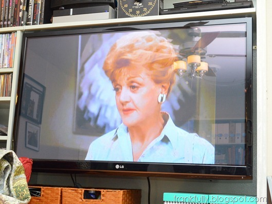 I watched a lot of Murder, She Wrote