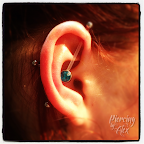 Three Point Ear Piercing