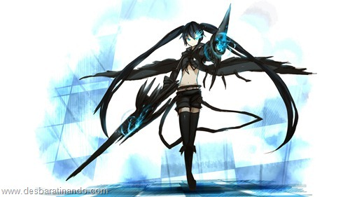 black rock shooter anime wallpapers papeis de parede download desbaratinando   (9)