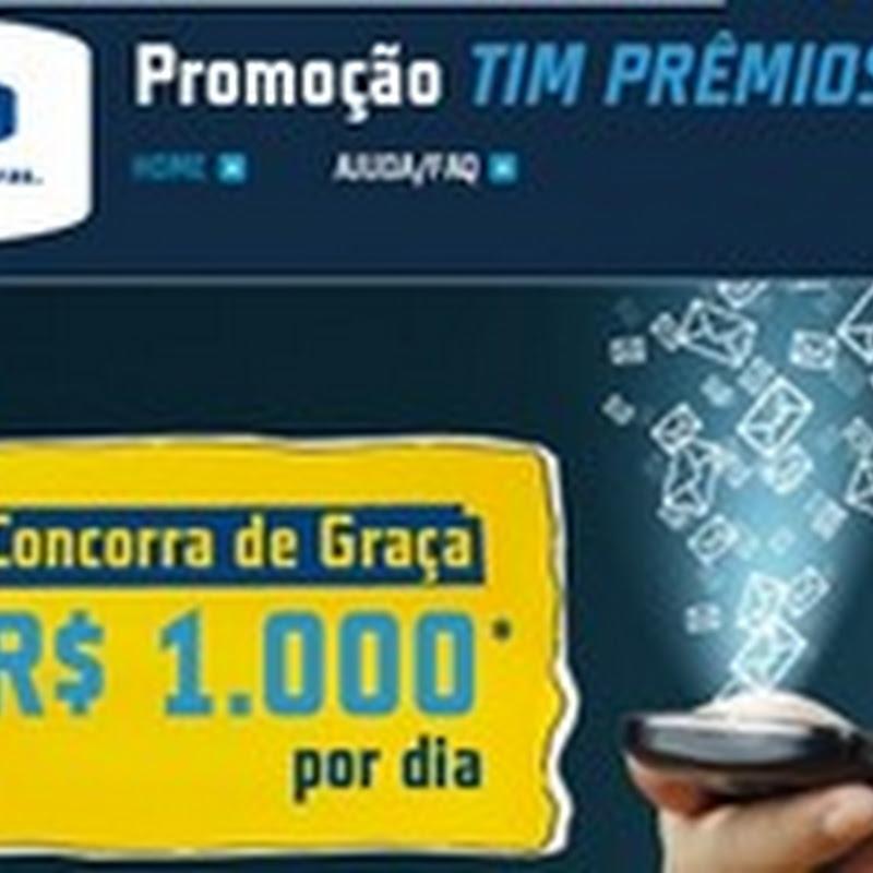 Promoção TIM Prêmios Grátis