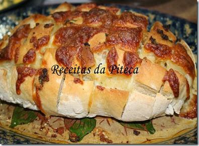 Pão de alho e cebola perto