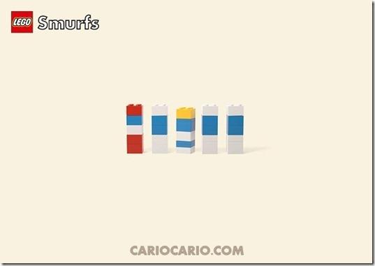 Lego smurfs