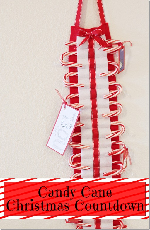 Candy Cane Countdown by the Crafty Cupboard