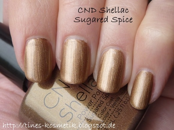 CND Shellac Sugared Spice 1