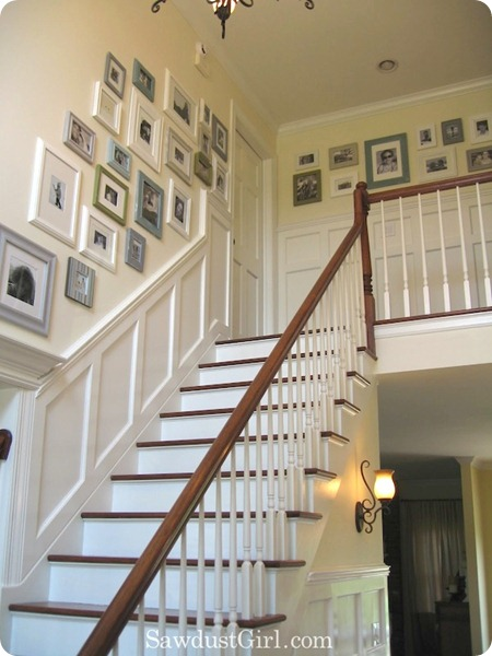 wainscoting on wall