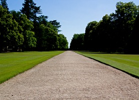 cheverny-lawn