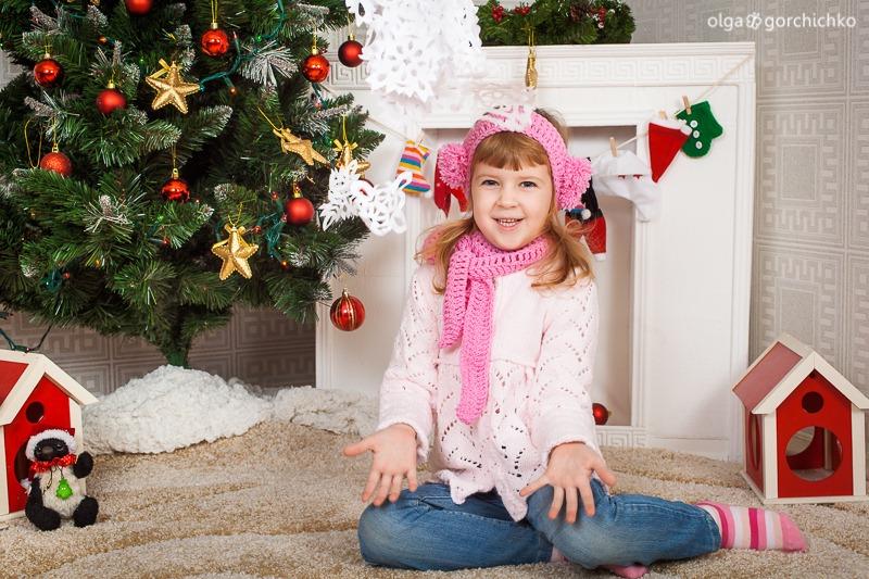Детский новогодний фотопроект Рождественские мечты. 30. Саша, Маша, Дарина-0968