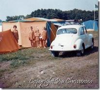 Hou Campingplads juli 1969
