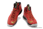 lbj10 fake colorway red black gold 1 04 Fake LeBron X