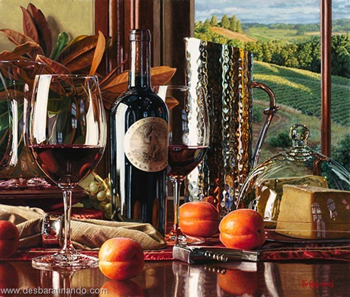 pinturas a oleo super realistas Roberto Bernardi Erich Christensen Steve Mills  desbaratinando  (35)