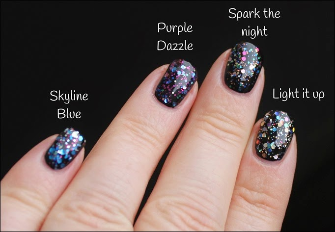 Maybelline Color Show be brilliant LE Swatches 12