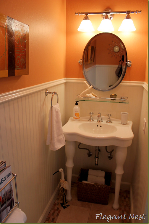 Small 1 2 Bathroom Ideas elegant nest: bathroom reveal #2 & #3…