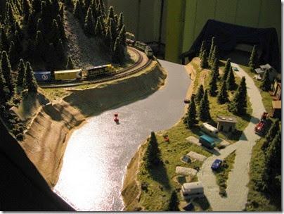IMG_9574 Cascade Z Modelers Layout at LK&R Swap Meet in Rainier, Oregon on December 8, 2007